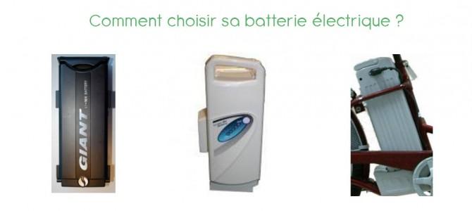 La batterie du vélo électrique : un élément décisif